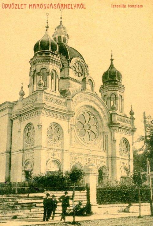 Marosvásárhely:izraelita templom.1908