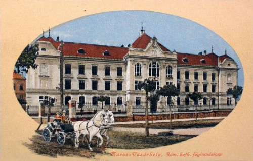 Marosvásárhely:katolikus főgimnázium.1910