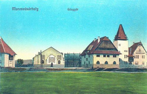 Marosvásárhely:gázgyár(Kós Károly alkotása).1913