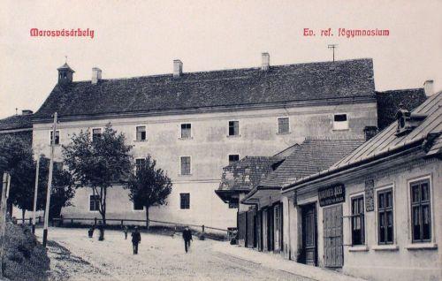 Marosvásárhely:református főgimnázium.1909