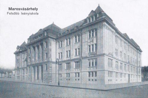 Marosvásárhely:Felsőbb Leányiskola.1915