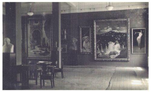 Marosvásárhely:képtár a Kulturpalotában.1943