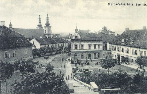 Marosvásárhely:Bem tér bútorvásár idején.1911