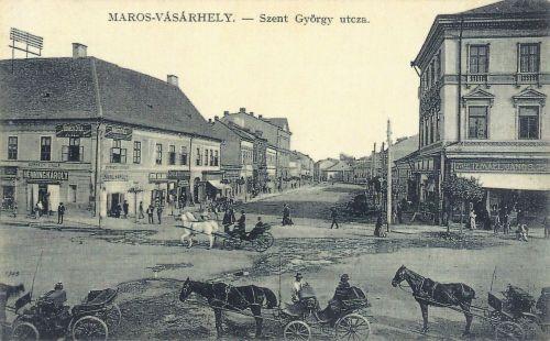 Marosvásárhely:Szent György utca.1911