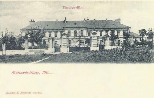 Marosvásárhely:tiszti pavilon a Bethlen Gábor utcában.1900