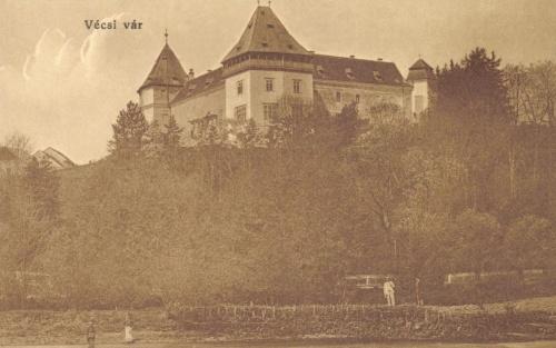 Marosvécs:Kemény várkastély,1915.