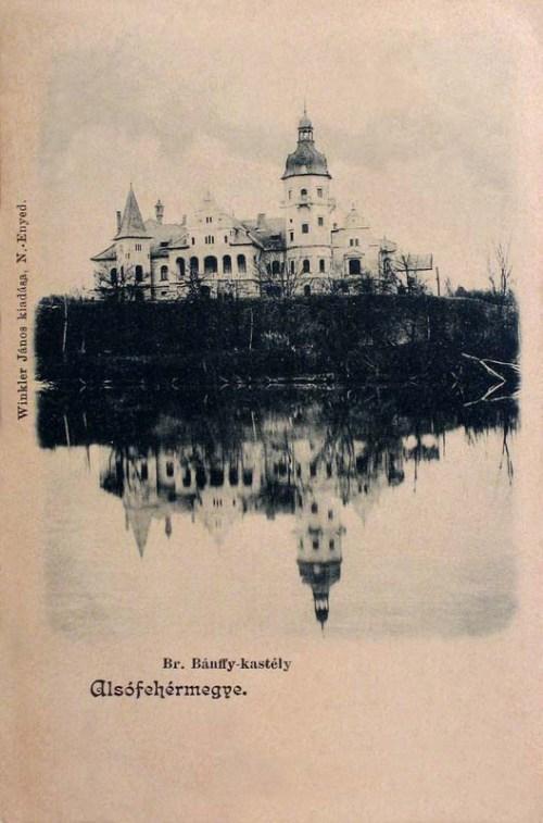 Marosszentkirály:báró Bánffy kastély.1903