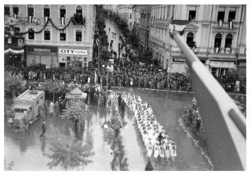 Marosvásárhely:ünnepség.1940 szeptember