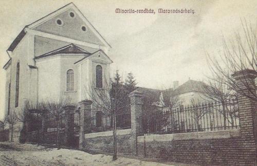 Minoriták temploma és rendháza,1909.