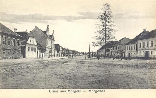 Morgonda:fő utca.1906
