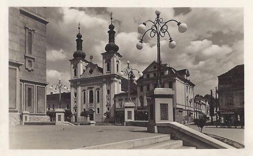 Marosvásárhely:katolikus plébánia templom.1942