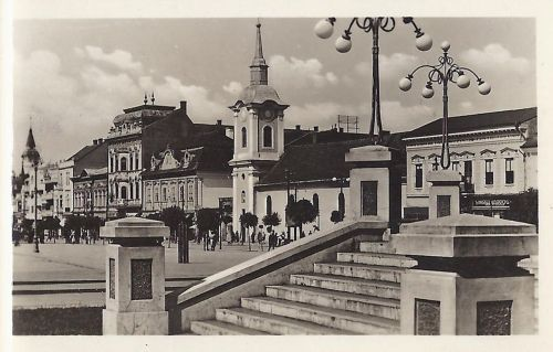 Marosvásárhely:ferences barátok temploma.1942