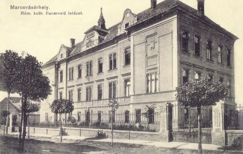 Katolikus gimnázium fiu bentlakása (internátus),1911.