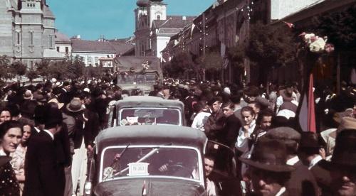 Megérkeztek a magyar honvédek,1940 szeptember 15.