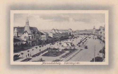 Marosvásárhely:Széchenyi tér.1912