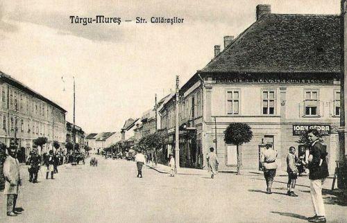 Marosvásárhely:Kossuth utca.1927
