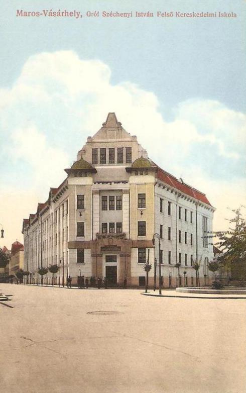 Marosvásárhely:gróf Széchenyi István Felső Kereskedelmi Iskola.1915