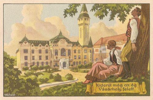 Marosvásárhely:irredenta,Kiderül még az ég Vásárhely felett.1920.