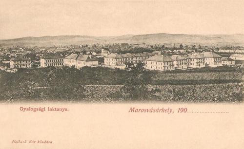 Marosvásárhely:Gyalogsági laktanya.1901