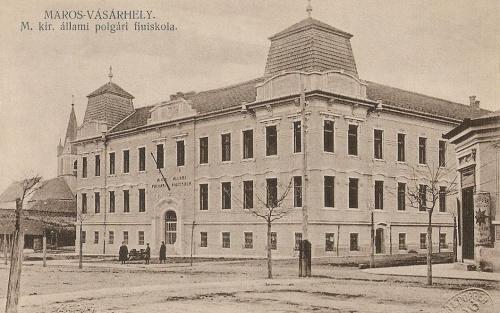 Marosvásárhely:Magyar Királyi Polgári Fiuiskola.1912