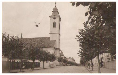 Marosvásárhely:református Kistemplom.1931