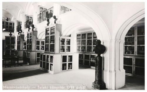 Teleki Téka:a könyvtár belseje.1942