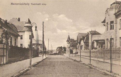 Marosvásárhely:tiszviselő telep,Francia Intézet.1917