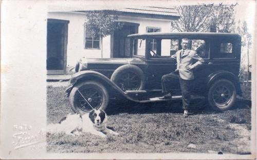 Marosvásárhely:régi autó.1943