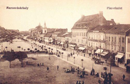 Marosvásárhely:Széchenyi téri piac részlet.1917