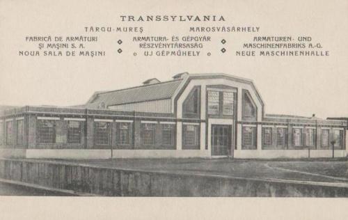 Marosvásárhely:szerkezet és gépgyár.1937