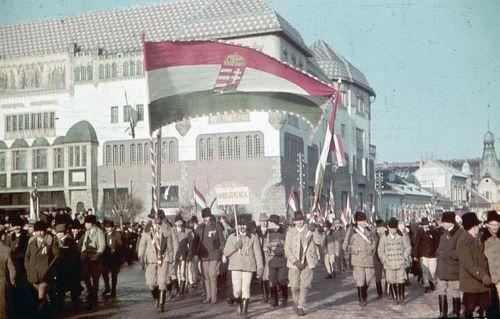 Marosvásárhely:felvonulás.1940