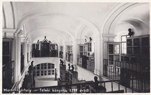 Teleki Téka könyvtár 1799-ben volt alapitva gróf Teleki Sámuel által.1942