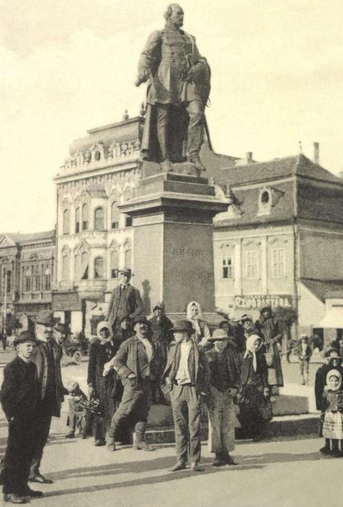 Bem József az 1848-as forradalom tábornokának szobra,1907.