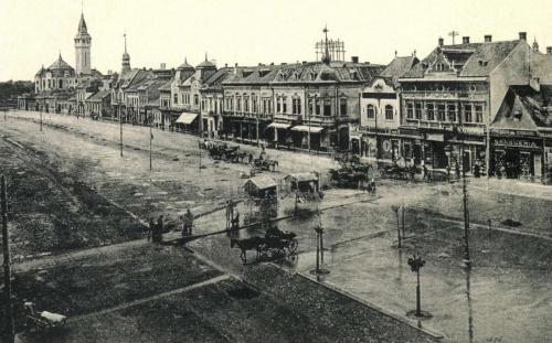 Vámos-ház,Bissingen palota,Agrár Takarékpénztár,Városháza,1911.