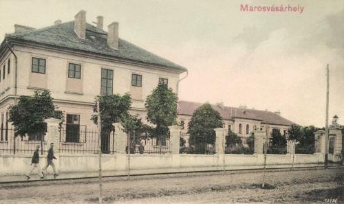 Ferenc József császári és királyi honvéd gyalogezred laktanya, 1904.