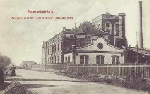 Meggyesfalvi szesz-,tégla-,és tengeri termékek gyára,1908