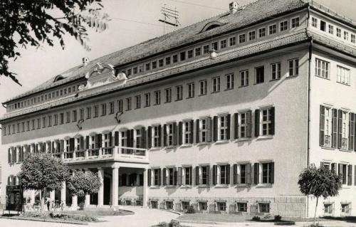 Erdélyrészi Hangya Szövetkezet Székháza,1943-ban.