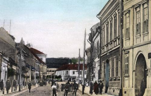 Marosvásárhely:Kossuth Lajos utca,1905.