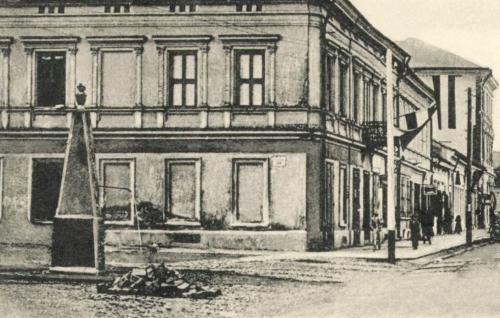 Szentgyörgy utcai kút a Péterffy ház előtt,1903.