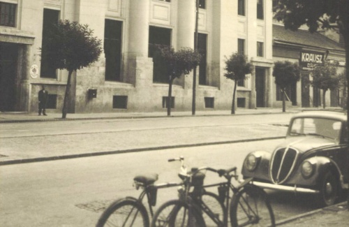 Magyar Királyi Posta a Szentgyörgy utcában,1940.