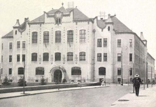 A MAROSVÁSÁRHELYI REFORMÁTUS KOLLÉGIUM,1911.
