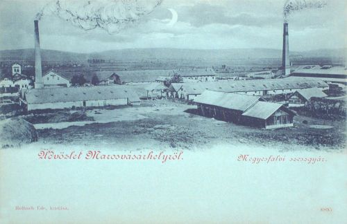 Marosvásárhely:1890-es évek elején létesült meggyesfalvi szeszgyár.1899