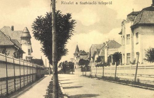 Marosvásárhely:tisztviselő telep,(Munkácsy Mihály utca)1915.