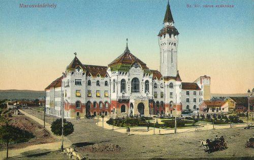 Marosvásárhely:szabad királyi város székháza,1912