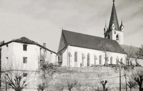 Vártemplom,Vargák bástyája és egy honvéd a várfalon,1943