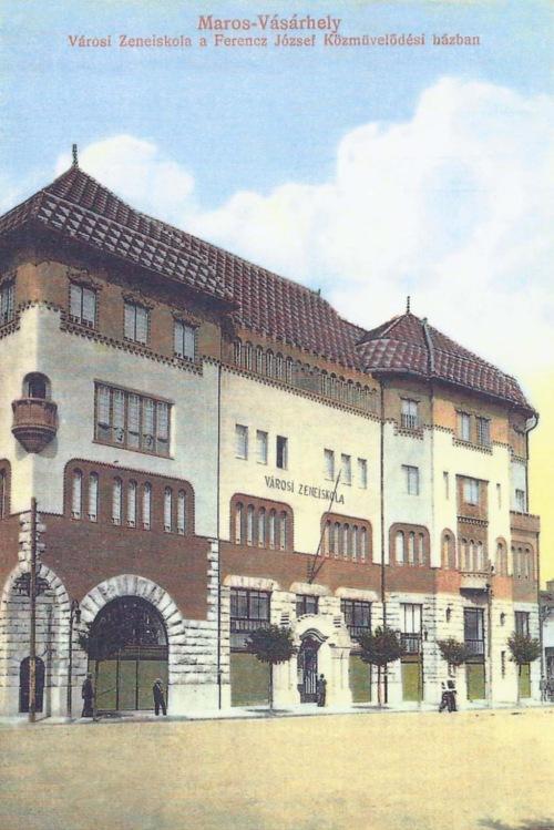 Városi zeneiskola a Ferenc József Közművelődési Palotában,1914