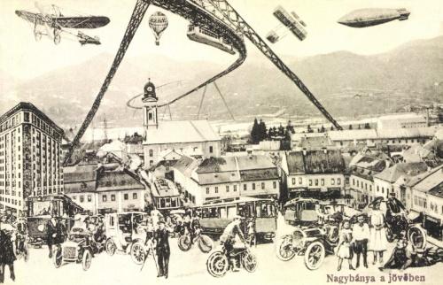 Nagybánya:a jövőben,1910.