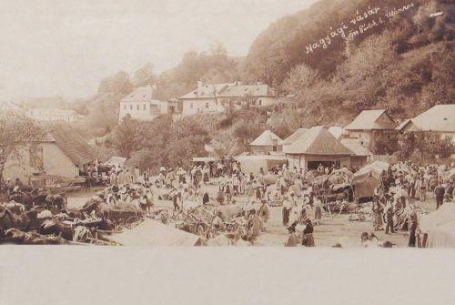 Nagyág:vásár.1900
