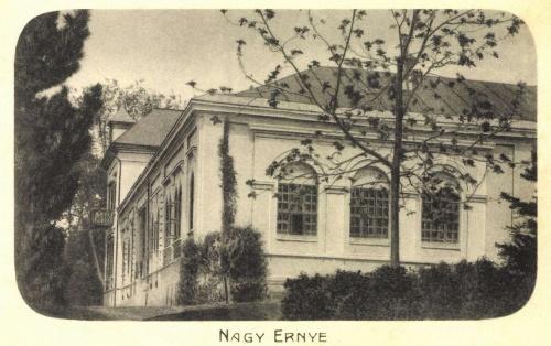 Nagyernye:báró Bálintitt család kastélya,1906.