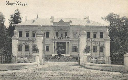 Nagykágya-Kágya:kastély.1912